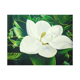 Impressão Em Tela Flor da magnólia