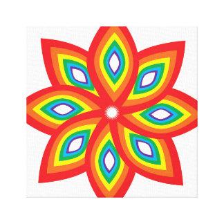Impressão Em Tela Flor do orgulho