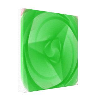 Impressão Em Tela flor verde