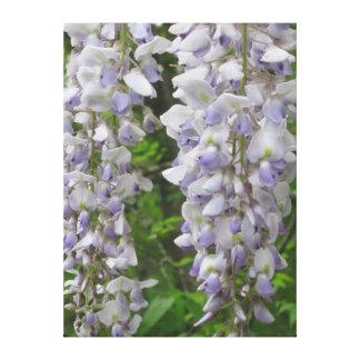 Impressão Em Tela Flores da lavanda das glicínias