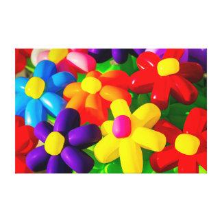 Impressão Em Tela Flores de balão do brinquedo