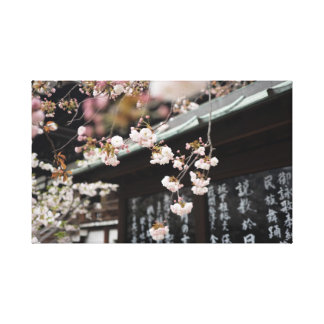 Impressão Em Tela Flores de cerejeira japonesas