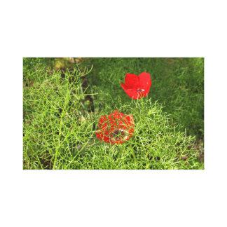 Impressão Em Tela Flores do primavera