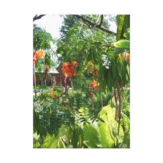 Impressão Em Tela Flores em St Louis