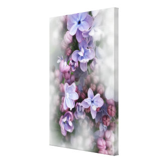 Impressão Em Tela Florescência do Lilac