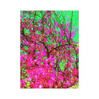 Impressão Em Tela Floresta bonita