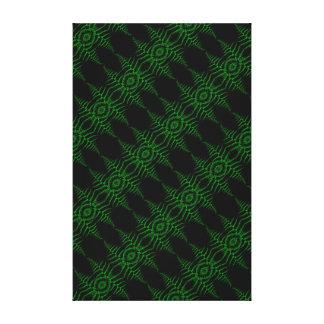 Impressão Em Tela Folhas verdes