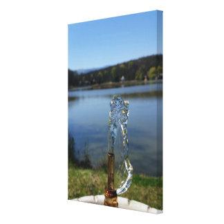 Impressão Em Tela fonte de água potável