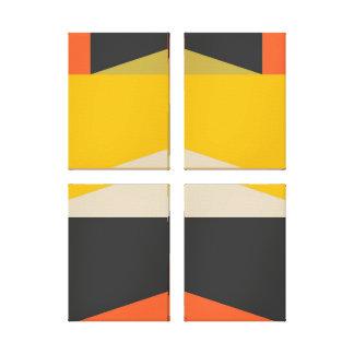 Impressão Em Tela Formas geométricas da arte abstracta moderna do
