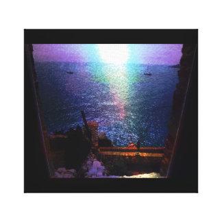 Impressão Em Tela Foto da cena da janela do beira-rio de France