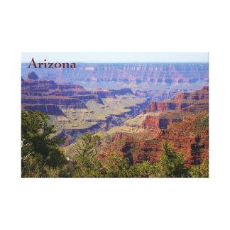 Impressão Em Tela Foto da paisagem da arizona do Grand Canyon com