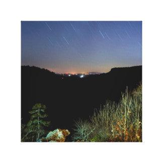 Impressão Em Tela Foto do céu nocturno