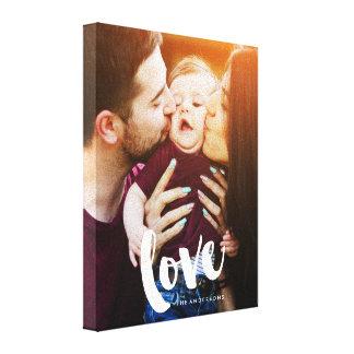 """Impressão Em Tela Foto do roteiro da escova do """"amor"""""""