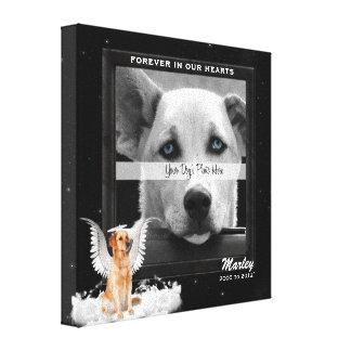 Impressão Em Tela foto dourada do memorial do animal de estimação do