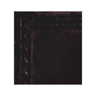 Impressão Em Tela Foto roxa antiga do azulejo da lata na arte da