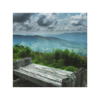 Impressão Em Tela Fotografia da paisagem do Mountain View