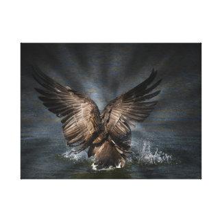 Impressão Em Tela Fotografia majestosa da natureza do ganso