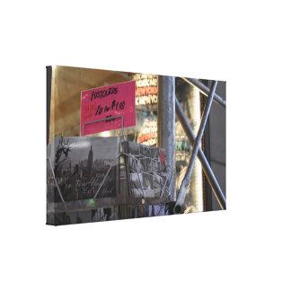 Impressão Em Tela Fotografia urbana da Nova Iorque NYC da loja do