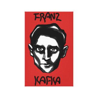 Impressão Em Tela Franz Kafka