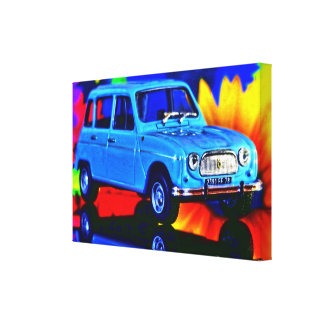 Impressão Em Tela French Car - Photoworks Louis Glineur