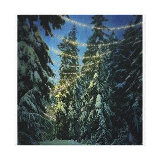 Impressão Em Tela Fuga do inverno