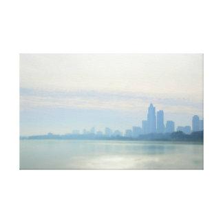 Impressão Em Tela Fuga moderna das proximidades do lago de Chicago
