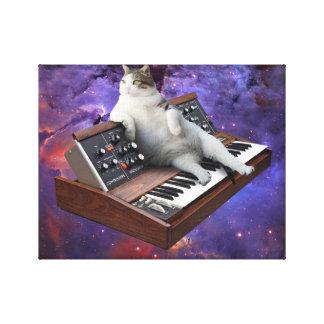 Impressão Em Tela gato do teclado - memes do gato - gato louco