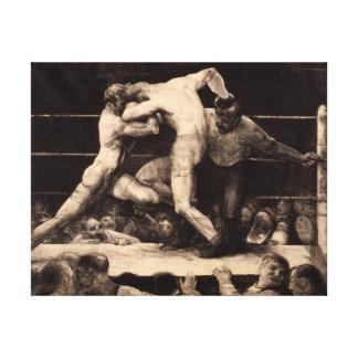 Impressão Em Tela George Bellows um veado na arte de Sharkey do