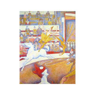 Impressão Em Tela Georges Seurat o circo Le Cirque