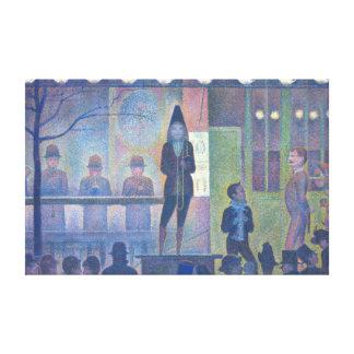 Impressão Em Tela Georges Seurat Parada de Cirque