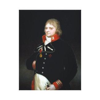Impressão Em Tela Goya Ignacio Garcini y Queralt, brigadeiro