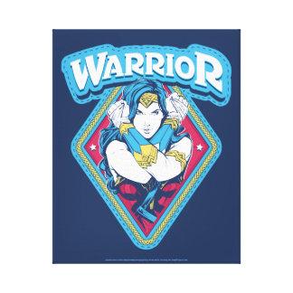 Impressão Em Tela Gráfico do guerreiro da mulher maravilha