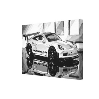 Impressão Em Tela GT3 Black'n'White - Photoworks Louis Glineur
