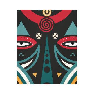 Impressão Em Tela guerreiro do maasai