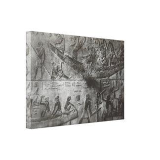 Impressão Em Tela Hieroglyphics egípcios