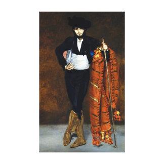 Impressão Em Tela Homem novo de Édouard Manet no traje de um Majo