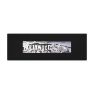Impressão Em Tela Hooray para Hollywood