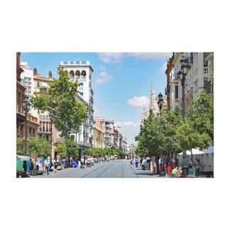 Impressão Em Tela Ideia do centro de Sevilha
