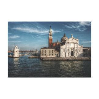 Impressão Em Tela Igreja Veneza Italia de San Giorgio Maggiore