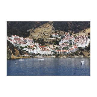 Impressão Em Tela Ilha de Catalina da arte da parede