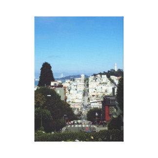 Impressão Em Tela Imagem bonito de San Francisco