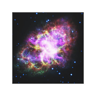 Impressão Em Tela Imagem cor-de-rosa do espaço da nebulosa de