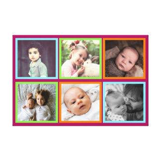 Impressão Em Tela Imagens esquadradas coloridos