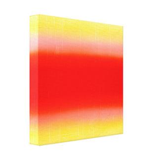 Impressão Em Tela Inclinação no vermelho e no amarelo