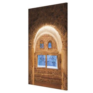 Impressão Em Tela Interior do Bathhouse de Mikve