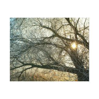 Impressão Em Tela Inverno a das Havel em linho