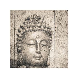 Impressão Em Tela Ioga de Buddha do vintage