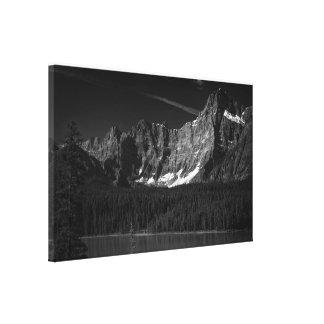 Impressão Em Tela Iv de Borealis do Terra
