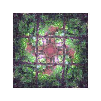 Impressão Em Tela Janela da floresta
