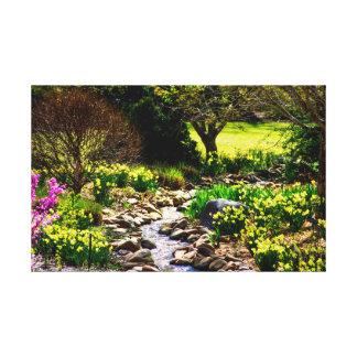 Impressão Em Tela Jardim botânico floral do primavera do sul